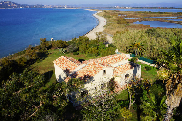 PROPERTY FOR SALE / GIENS / WATERFRONT PROPERTY FOR SALE / VAR / PANORAMIC SEA VIEW