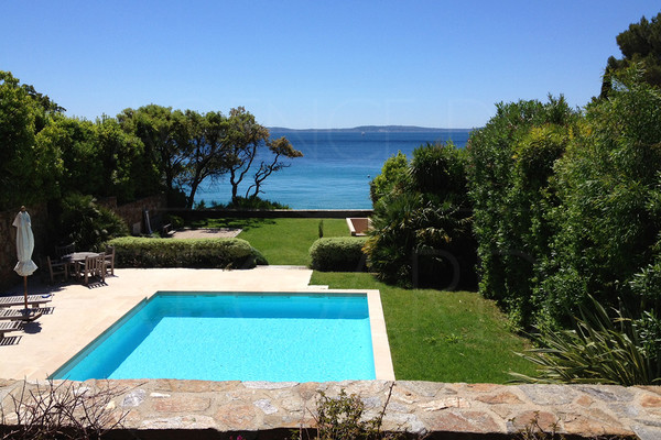 waterfront property, Rayol Canadel, Var, South of France, private access to the beach