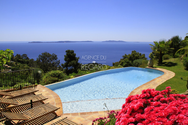 property in Rayol Canadel with panoramic sea view , house in Rayol , pool , 5 bedrooms , var